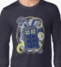 Doctor van Gogh. Who? Long Sleeve T-Shirt