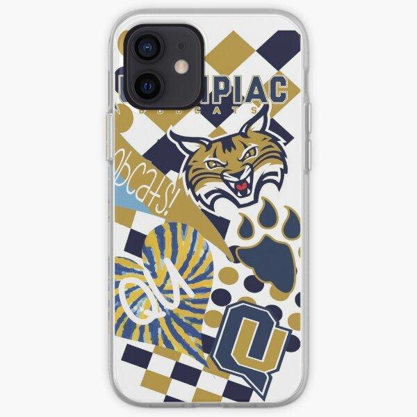 Quinnipiac University Collage  iPhone Soft Case