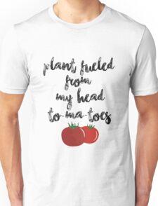 Plant Fueled - Vegan/Vegetarian  Unisex T-Shirt