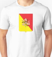 Coat of arms of Sicily Unisex T-Shirt