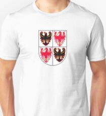 Coat of Arms of Trentino-Alto Adige Sudtirol Region of Italy Unisex T-Shirt