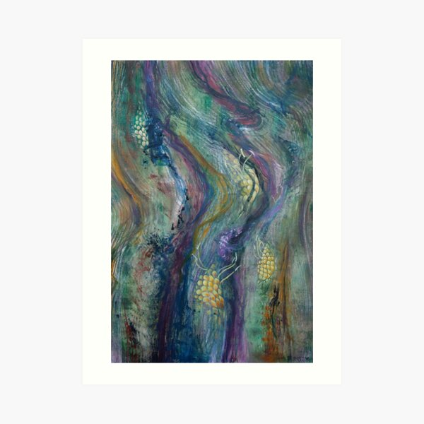 Sea of Bark Art Print