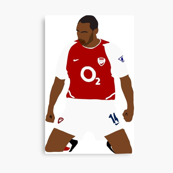 Thierry Henry Iconic Goal Celebration Canvas Print
