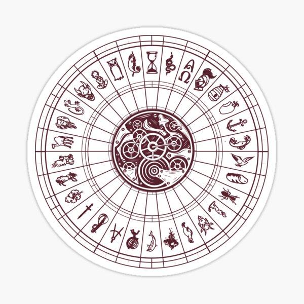 Alethiometer Symbols Sticker
