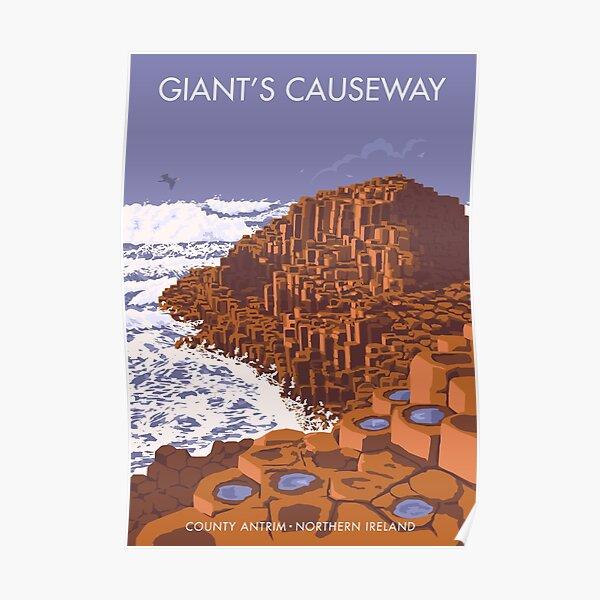 Giant's Causeway, Northern Ireland. Poster