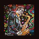 Jazz for the Soul (Pillow) by Jennifer Ingram