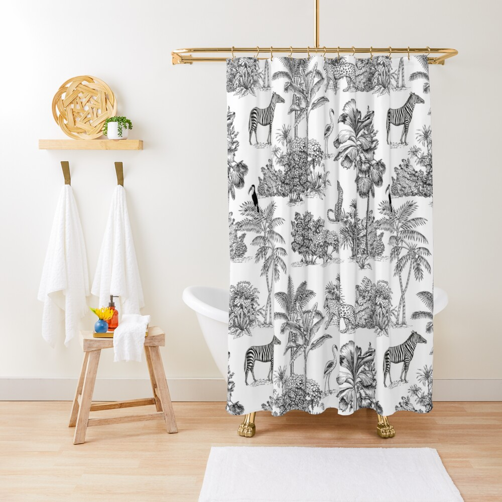 jungle toile  Shower Curtain