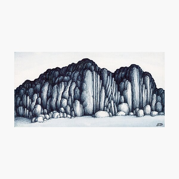 Rock formation #13 Photographic Print