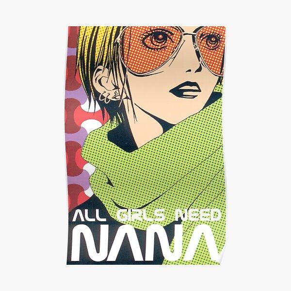 Nana Osaki in All Girls Need Nana Spread Poster