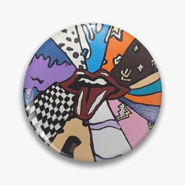 tongue of patterns Pin