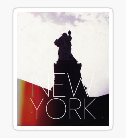 NEW YORK IV Sticker