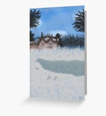 Following the Storm Greeting Card