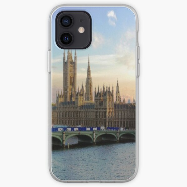 Houses of Parliament Westminster Whitehall Londond England iPhone Soft Case
