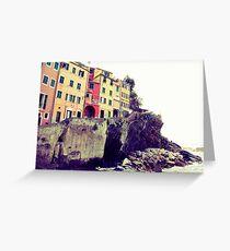 Manarola, Liguria, Italy Greeting Card