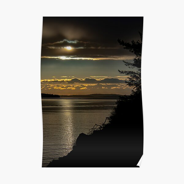 Sunset Cooks Cove Poster