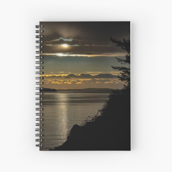 Sunset Cooks Cove Spiral Notebook