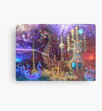 Ritual Cathedral of Stray Barks Metal Print
