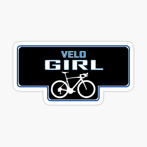 Velo Girl Sticker