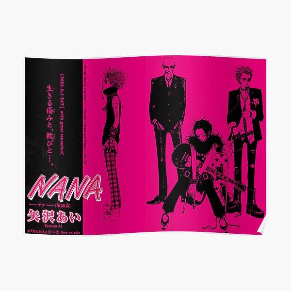 Bande Nana The Black Stones Poster