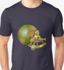 Vintage Globe and Sextant Unisex T-Shirt