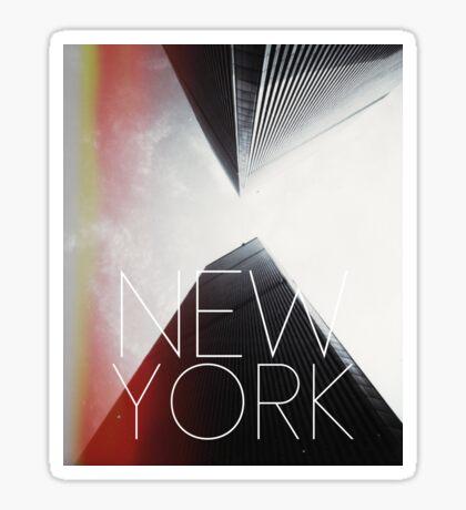NEW YORK V Sticker