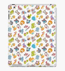 "Alphabet ""Funny animals"" for children's iPad Case/Skin"
