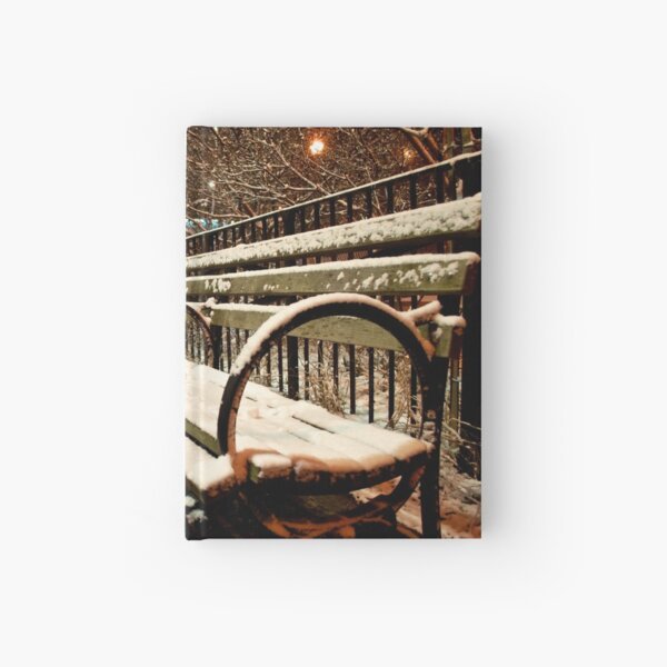 NYC Bench  Hardcover Journal