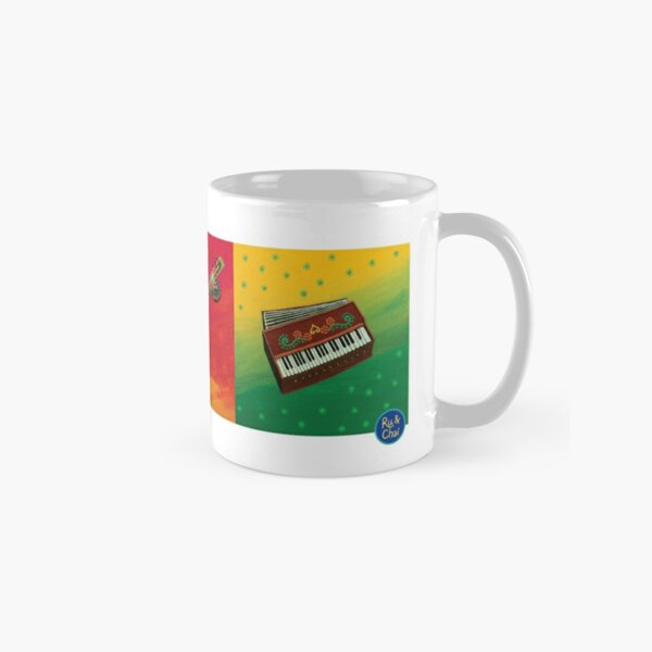 Indian Music Instruments Classic Mug