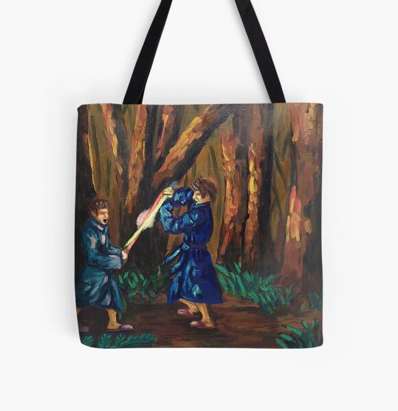 Robe Fight All Over Print Tote Bag