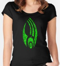 Star Trek - Borg Emblem Women's Fitted Scoop T-Shirt