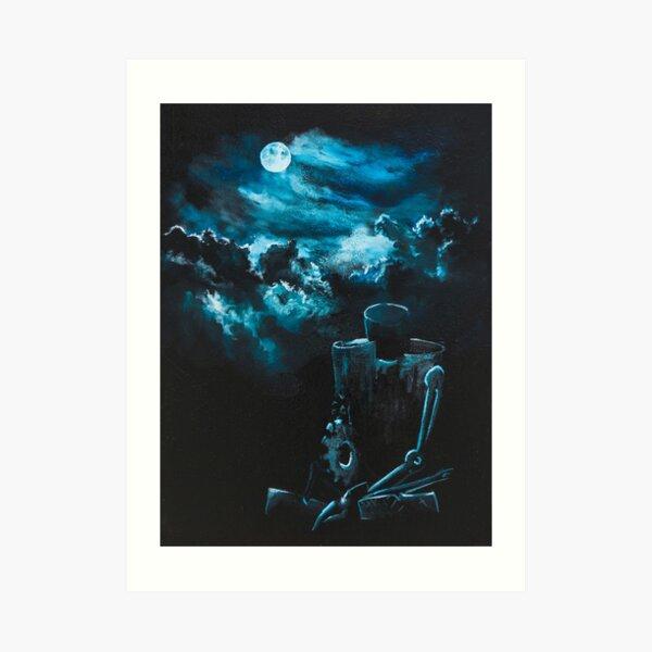 Resting in the Moonlight Art Print
