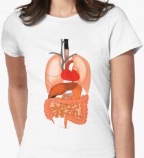 Internal organs womens clothes redbubble internal organs womens fitted t shirt ccuart Images