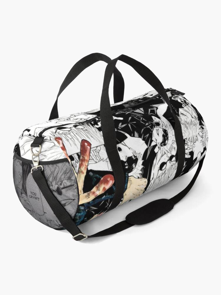 Alternate view of Gojo Satoru Jujutsu Kaisen Manga Collage Duffle Bag