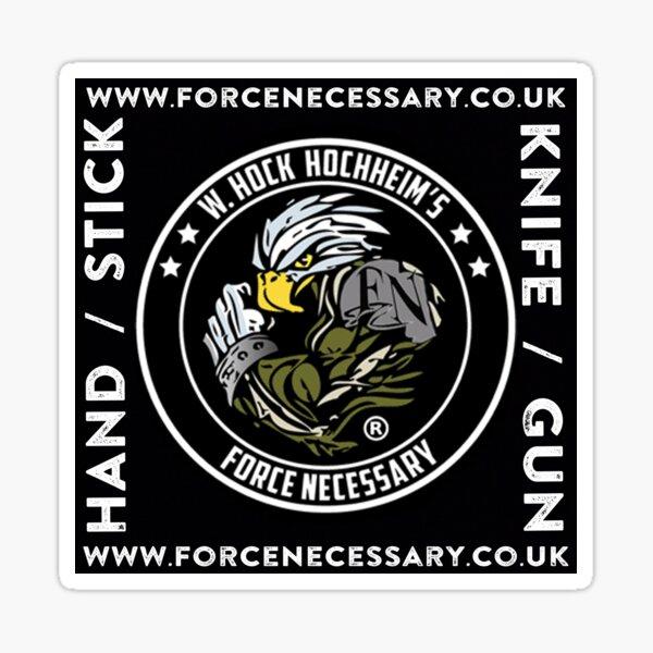 Force Necessary UK Sticker
