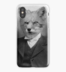 A Fantastic Fox Gentleman. iPhone Case/Skin