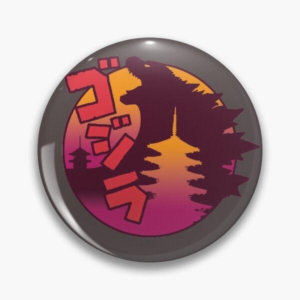 Godzilla Pop in Red Pin