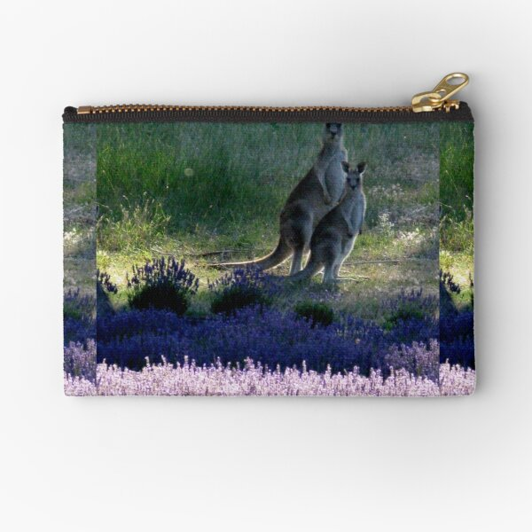 Evening in the Lavender  Zipper Pouch
