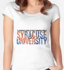 S.I. Newhouse School at Syracuse University Women's Fitted Scoop T-Shirt