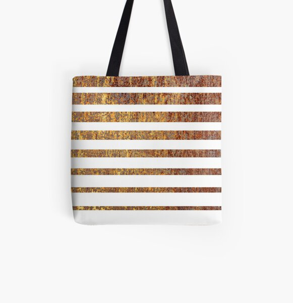Striped Industry Pillow All Over Print Tote Bag