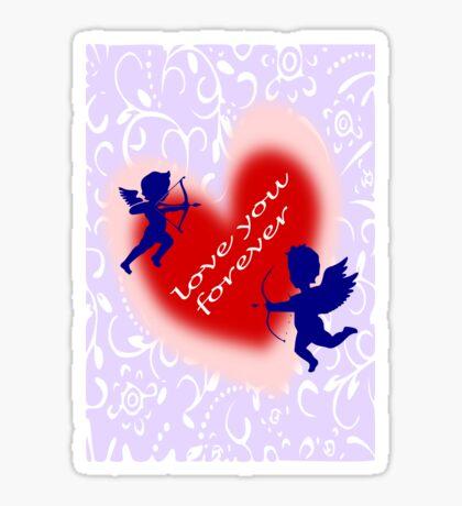Cupid (935 Views) Sticker