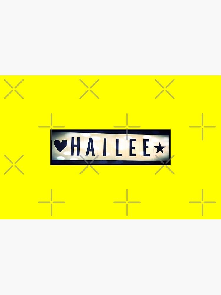 Hailee, Hailee mask, Hailee mug, Hailee travel mug, Hailee socks, Hailee notebook by PicsByMi