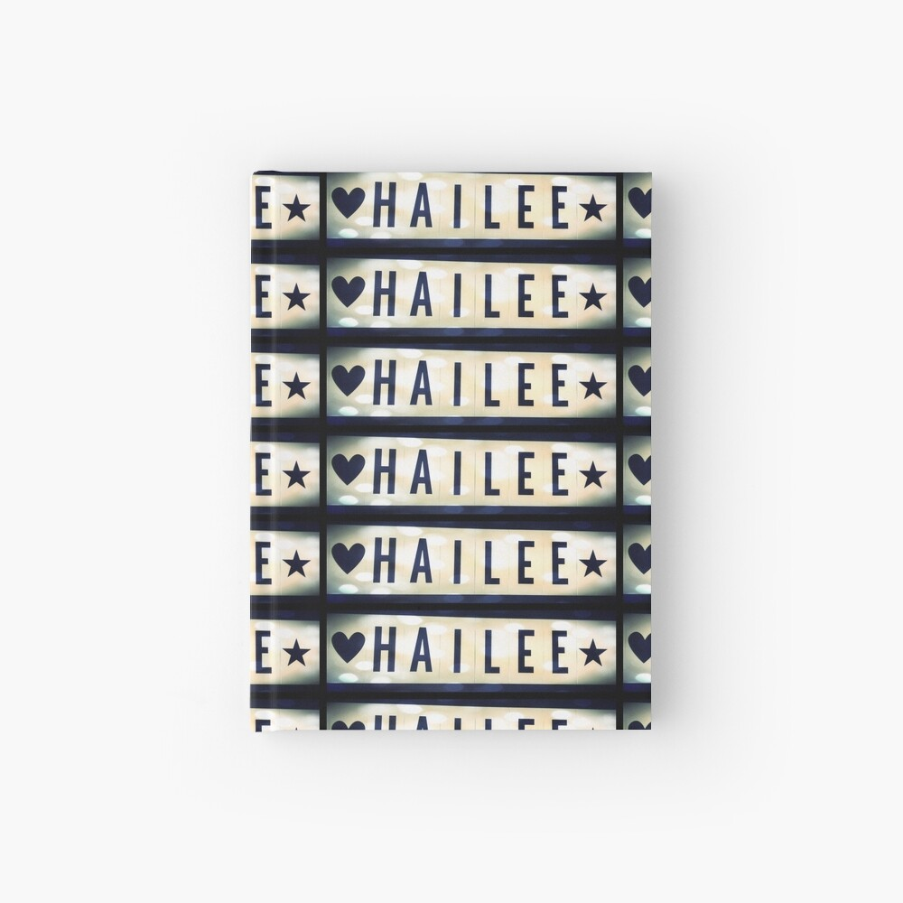Hailee, Hailee mask, Hailee mug, Hailee travel mug, Hailee socks, Hailee notebook Hardcover Journal
