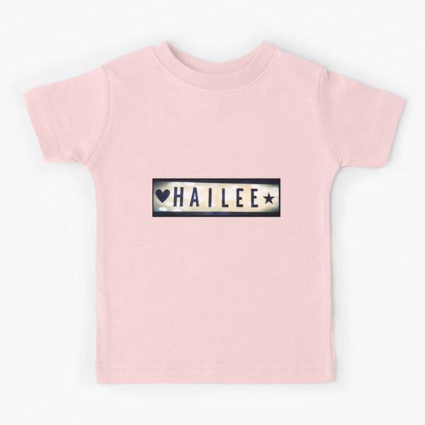 Hailee, Hailee mask, Hailee mug, Hailee travel mug, Hailee socks, Hailee notebook Kids T-Shirt