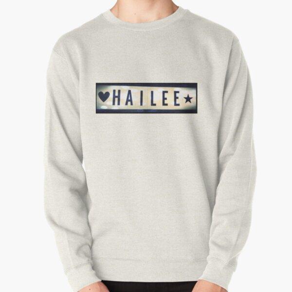 Hailee, Hailee mask, Hailee mug, Hailee travel mug, Hailee socks, Hailee notebook Pullover Sweatshirt
