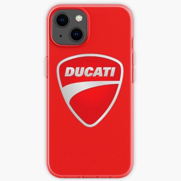 Motocicleta Ducati Funda blanda para iPhone