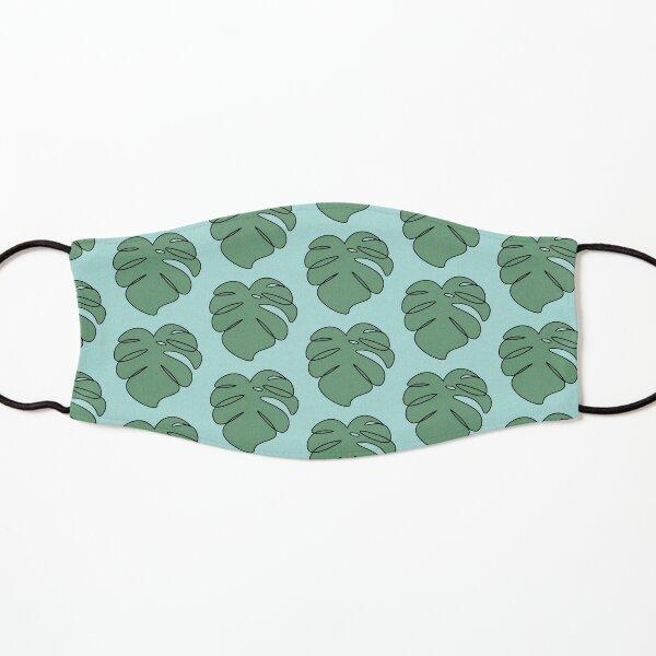 Monstera swiss cheese plant leaf Kids Mask