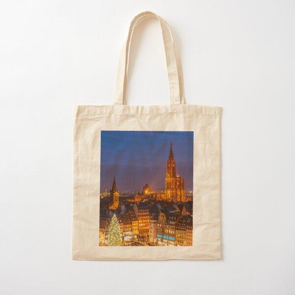 Noël à Strasbourg Tote bag classique