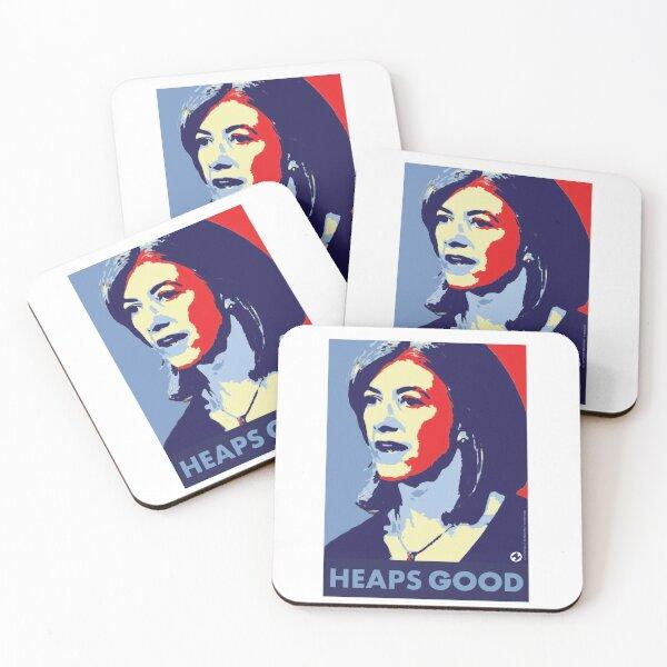 Nicola is Heaps Good Coasters (Set of 4)