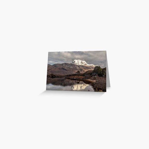 Slioch and Loch Maree Greeting Card