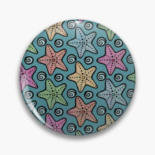A Galaxy of Seastars Pin